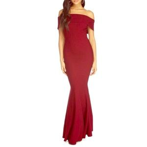 Burgundy Special Event Gown